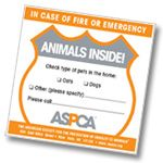 ASPCA | Disaster Preparedness  Emergencies come in many forms, and they may require anything from a brief absence from your home to permanent evacuation. Each type of disaster requires different measures to keep your pets safe. The best thing you can do for yourself and your pets is to be prepared.