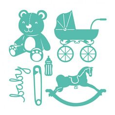 Troquel Baby First Edition para Sizzix