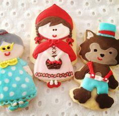 Biscoitos Chapeuzinho Vermelho / Red Riding Hood