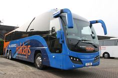 Service Bus, Michael Carter, Bus Coach, February 2015, Coaches, Buses, Blue Bird, Bbc, Britain