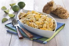 Brokkoliform - Oppskriftskroken Pasta, Frisk, Tortilla Chips, Nachos, Risotto, Macaroni And Cheese, Spicy, Stuffed Peppers, Ethnic Recipes