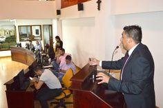 El gerente  de la Ese Salud Pereira Cristhian Herrera Giraldo presentó su informe de gestión ante el Concejo