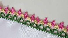 Sequential Crochet Lace Bud Model Making Turkish Video # elişi # ör . Crochet Gifts, Crochet Doilies, Easy Crochet, Crochet Lace, Sheep Tattoo, Linen Placemats, Celtic Patterns, Knit Shoes, Tatting Lace