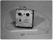 Toen: De eerste pacemaker op batterijen.