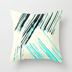 Dramatic 1 Throw Pillow by Jensen Merrell Designs - $20.00