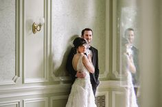 Laura & Michael | Great Gatsby Wedding at Cairnwood by Love Me Do - via Snippet & Ink