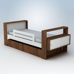 Austin Youth Bed With Youth Rail
