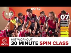 24100ca72c6 Fast Fitness Workout – Get Fit With GCN's 30 Minute High Cadence Bike Wo...  | Workouts - Spinning | Cycling workout, Spinning Workout, Workout