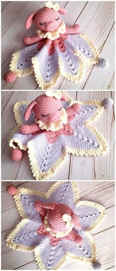 - Hobby That Make Money Tutorials - Cheap Hobby Simple - Hobby Lobby Christmas Signs Crochet Lovey Free Pattern, Crochet Pig, Cute Crochet, Beautiful Crochet, Crochet Crafts, Crochet Dolls, Easy Crochet, Crochet Projects, Lovey Blanket