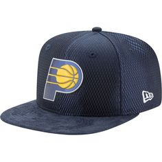 check out 6b1dc 4f8bc New Era Men s Indiana Pacers On-Court 9Fifty Adjustable Snapback Hat