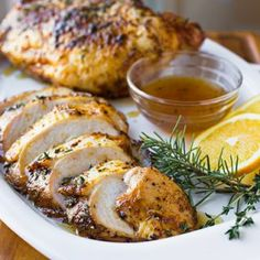 Orange-Honey Glazed Roasted Turkey Breasts, and the Sweet Taste of the Present Moment