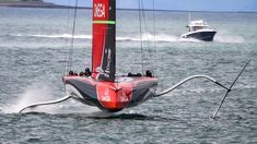 Sail World, America's Cup, Auckland New Zealand, Sailing Boat, East Coast, Art Ideas, Cruise, Ships, Racing