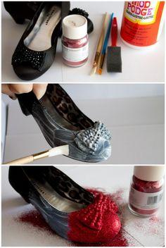 Wizard of Oz Dorothy Red Slippers Tutorial | anightowlblog.com