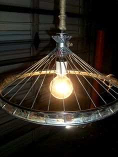 30 Ideas For Bike Wheel Art Light Fixtures