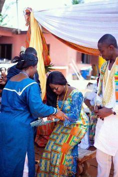 wedding ceremony - Ghana.