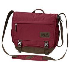 e0919dff2b5a9 12L Jack Wolfskin Camden Town Messenger Bag Camping Gear Online