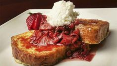 French Toast With Butter-Braised Strawberries From S2 of Cooking With Nick Stellino