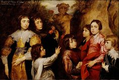 """Anton Van Dyck  """"A Family Group"""" 1634-35 (Detroit Institute of the Arts)"""