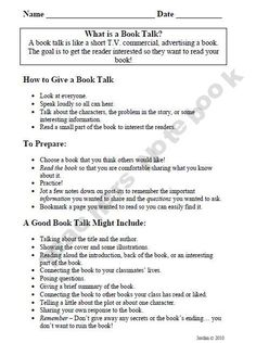 how to write a reference page for a book report