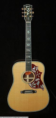 Gibson Super Custom Hummingbird Madagascar Rosewood