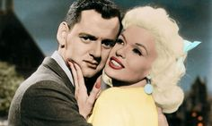 Tony Randall and Jayne Mansfield in Will Success Spoil Rock Hunter? Photograph: Allstar/Sportsphoto Ltd Iconic Movies, Old Movies, Tony Randall, Screen Film, Jayne Mansfield, Great Films, Celebs, Celebrities, American Actors