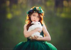 Lisa Holloway maakt prachtige foto's. Hoe? Door kinderen in de natuur te fotograferen. Klinkt simpel, maar…