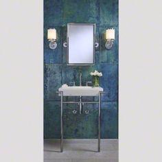 39 best powder room perfection images on pinterest master bathroom bath room and bathroom for Studio41 home design showroom southside chicago