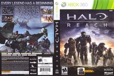 Halo Reach, Spartan Super, Video Game Collection, Super Soldier, Xbox 360 Games, Games Box, Relentless, The Covenant, Cover
