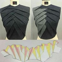 Sewing Techniques Advanced Técnica origami Glorious Sewing Basic Tips Ideas. All Time Best Sewing Basic Tips Ideas. Dress Sewing Patterns, Sewing Patterns Free, Clothing Patterns, Pattern Sewing, Sewing Ideas, Sewing Tips, Fashion Sewing, Diy Fashion, Ideias Fashion