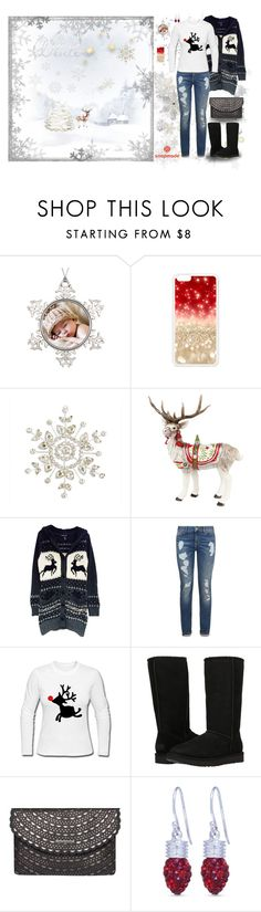 """""""Snapmade #17"""" by sarahguo ❤ liked on Polyvore featuring Fitz & Floyd, Tommy Hilfiger, UGG, Dorothy Perkins and Belk Silverworks"""