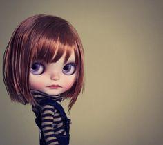 ULMA Nomad Vainilladolly Custom OOAK Blythe doll par Vainilladolly
