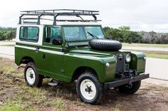 1963 Land Rover Santana Series IIA to be auctioned at Motostagia's 2014 Grand Prix Auction November 1st at the Long center in Austin, TX #ATX #COTA #USGP #Collector #Car#Auction #AutoAuction #CarAuction
