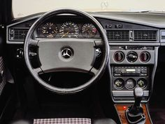 Inside the legendary Mercedes-Benz 190 E 2.3 16 Cosworth.