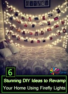 6 Stunning DIY Ideas to Revamp Your Home Using Firefly Lights