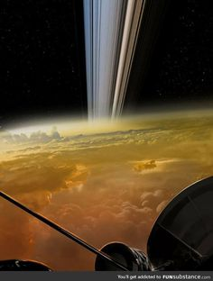 Cassini, delivering the closest images of Saturn in history