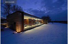 Nicolas Tye Architects office in the winter. WOVOX.com