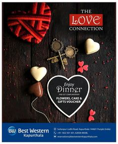 Celebrate the day of love with Best western Kapurthala for an unparalleled stay and dining experience With complimentary flowers, cake, gift vouchers.For Booking Call Us On Dog Lover Gifts, Dog Lovers, Love Connection, Gift Cake, Romantic Dinners, Gift Vouchers, Best Western, Valentine Gifts, Chocolate