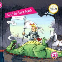 """Joan Maragall / Subi. """"Avui és Sant Jordi"""". Editorial Baula (5 a 10 anys) Dos poemes de Joan Maragall, """"La diada de Sant Jordi"""" i """"Avui és Sant Jordi"""", que parlen de la llegenda i de primerenques celebracions del 23 d'abril."""