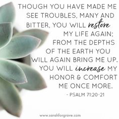 8 Hope-Filled Bible Verses for Hard Days Bible Verses Quotes, Encouragement Quotes, Bible Scriptures, Hope Quotes, Faith Quotes, Hard Day Quotes, Friend Quotes, Smile Quotes, Psalm 71