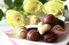 Десерт белый шоколад