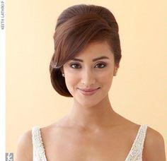 Bridal hair look