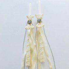 Easter Candles Weddings Baptisms Custom Favors by LimaniDesigns #greekweddingcandles #weddingcandles