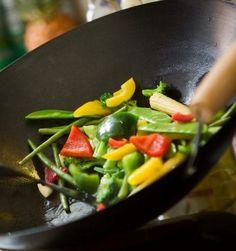 wok de vegetales - Recetas Vegetarianas de China