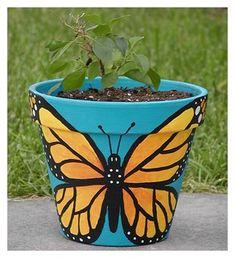 Diy dog spray it works ideas Flower Pot Art, Flower Pot Crafts, Painted Plant Pots, Painted Flower Pots, Painted Pebbles, Bougainvillea, Decorated Flower Pots, Pebble Painting, Pebble Art