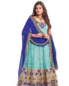 Vibes Georgette Anarkali Designer Dress Material V157-1201 Product Price:Rs.3198.00 INR Deal Price:Rs.999.00