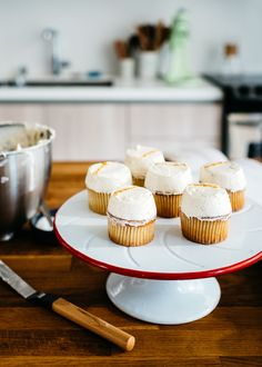 Cardamom Cupcakes with Brown Butter Buttercream