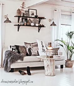 Draumesidene: Makeover livingroom!