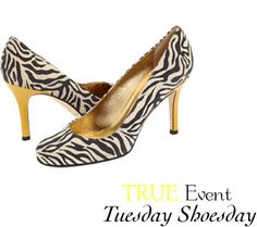 Kate Spade Zebra Stiletto (www.trueevent.com)