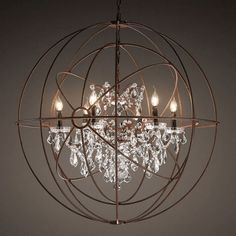 Crystal Halo Chandelier 41 Quot Kitchen Pinterest Halo