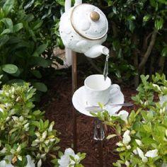 Teapot water fountain